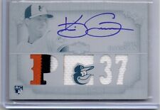 2013 Topps Triple Threads White Whale Kevin Gausman Autograph Jersey RC 1/1 Auto