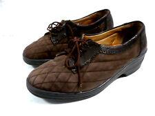 chaussures GANTER P 38 UK5 trotteurs cuir marron Comfort souple  femme