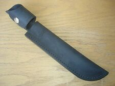 New 120 Buck General Knife Black Distressed Leather Belt Sheath Only -No Knife