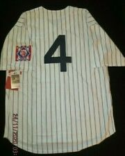 """""""LOU GEHRIG"""" NEW YORK YANKEES """"NWT"""" VINTAGE WHITE HOME JERSEY M&N 52XXL 1939"""