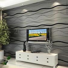 10m Roll 3D Pegatinas de Pared TV Papel Pintado WallPaper Decorar Hogar Casa DIY