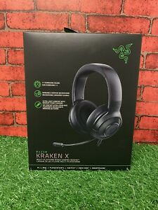 Razer Kraken X Multi-Platform Wired Gaming Black Headset-- NEW