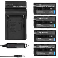 Battery / Charger for Sony NP-F550 NP-F330 NP-F570 NP-F750 NP-F960 F970 F770 USA