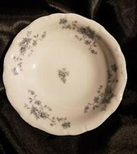 "4 Johann Haviland BLUE GARLAND  Soup Cereal Bowls  7 1/2 "" Near Mint"
