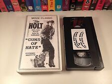 Guns Of Hate & Border Feud Rare VHS Western Double Feature Tim Holt Lash La Rue