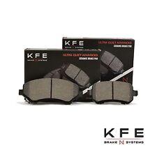 Premium Ceramic Disc Brake Pad FRONT + REAR NEW Set With Shims KFE1327 KFE1326