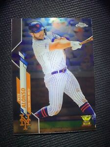 2020 Topps Chrome Pete Alonso #80 New York Mets Rare