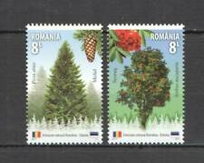 RM247 2017 ROMANIA FOREST SPECIES TREES NATURE #7306-07 MICHEL 11,2 EURO MNH