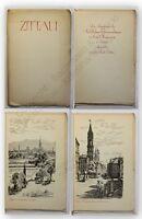 Broschüre Zittau zum sächsischen Gemeindetages 1925 Sachsen Illustriert xy