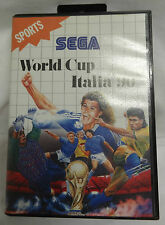 SEGA MASTER SYSTEM GAME - WORLD CUP ITALIA '90 - COMPLETE