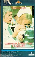 Il Caso Carey (1987) VHS MGM 1a Ed. james Coburn Jennifer O'Neill  rara
