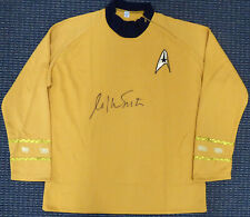 WILLIAM SHATNER AUTOGRAPHED STAR TREK UNIFORM SHIRT WITH ZIPPER XL JSA 159210