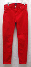 Hudson Red Nico Super Skinny Stretch Jeans Mid-Rise Size 27
