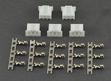 (5) 2S - 3 Pin JST-XH / Align Replacement Male LiPo Balance Connectors w/ Pins