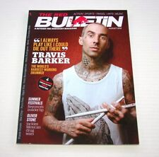 The Red Bulletin Magazine Aug 2012 Travis Barker of Blink-182 Exclusive Issue