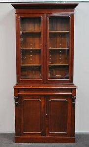 Antique Victorian Rustic Cedar Bookcase / Cabinet  c1890s