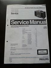 Service Manual  Philips AZ 9614