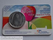 Netherlands Het Tulpen vijfje 5 euro 2012 Fdc in Coincard