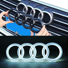Black Sport Car Led Front Grille Logo Emblem Lights For Audi A1 A3 A4 A5  A6 S3