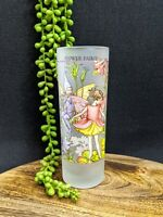 Flower Fairies The Columbine Fairy Tall Drinking Glass Cicely Mary Barker 2004
