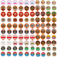 Flavored Coffee Single Serve Cups/K cups Variety Pack Sampler,100-count