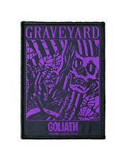 Graveyard Woven Sew On Patch - Goliath Battle Jacket Patch #77