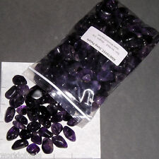 AMETHYST Deep Purple sm-med tumbled 2 lb bulk stones quartz Namibia SAVE 20%
