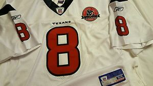 David Carr 2002 Houston Texans Rookie Authentic Jersey Sz 54