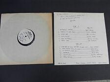 Artie Kane RARE Test Pressing Vinyl LP 1969, Signed by Artist, A&M Studios