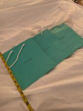 Authentic Tiffany & Co Medium Gift Bags (3)