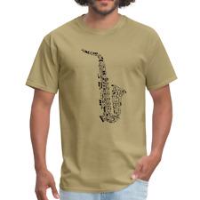 Saxophone & Music Notes | Men's T-Shirt