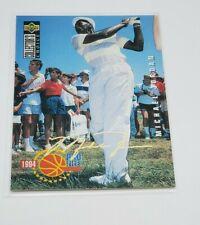 Michael Jordan 1994-95 Upper Deck Collector's Choice Gold Signature # 204 Golf