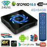 X96Q MAX Box Android 10.0 TV Box Quad Core WiFi 4K Home Top TV Media Player