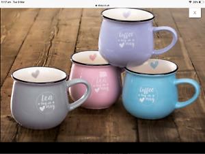 BEAUTIFUL HUG IN A MUG COFFEE TEA MUG BRAND NEW 4 colours available