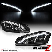 [LATEST DESIGN DRL] 2007-2013 Mercedes W221 S Class AMG LED Black Headlights D1S