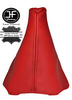 RED REAL LEATHER MANUAL GEAR GAITER FITS CITROEN C2 C3 2003-2009