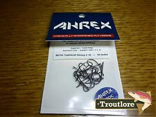 18 x AHREX NS156 #10 NORDIC SALT TRADITIONAL SHRIMP HOOKS NEW FLY TYING MATERIAL