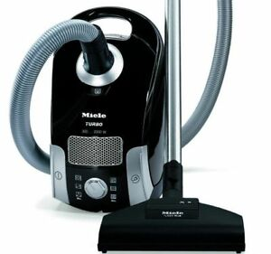 Miele Compact C1 Turbo Team Canister Vacuum Great for Hard Floors and Area Rugs