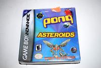 Asteroids / Pong / Yar's Revenge Nintendo Game Boy Advance New in Sealed Box