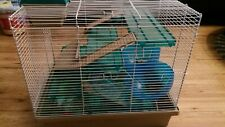 Three Tier Hamster Pet Cage complete + some used Accessories Rosewood Pico XL VG