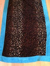 Dolce & Gabbana  Animal Print Beach Towel Gorgeous