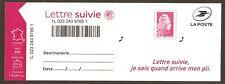FRANCE 2019 Autoadhésif n° 1656 A Lettre suivie LS 6 Neuf** LUXE MNH