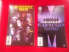 Lot of 2 Mystery Men #1 & 2 Dark Horse Comic Set 1-2 Complete Mini Series Vf Nm