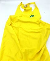 Vintage Nike Early Track Singlet USA Sample Yellow Blue Extremely Rare M