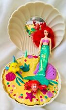 The Little Mermaid Magic Shell Complete Set in Box Vintage Irwin 1990s
