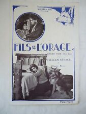 WILLIAM RUSSELL + VIRGINIA BROWN//U3/ french pressbook