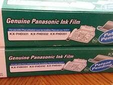 2 New Panasonic Kx-Fa93 For Kx-Fhd331 Kx-Fhd332 Kx-Fhd351 Replacement Fax Film