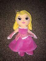"VGC Disney Posh Paws Princess Aurora Sleeping Beauty Plush Soft Toy 9"" FAB"