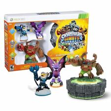 New Xbox 360 Skylanders Giants Starter Pack Cynder Tree Rex Figures Official