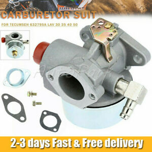 OE QUALITY - Carburetor for Tecumseh 632795A LAV 30 35 40 50 Carb Replacement
